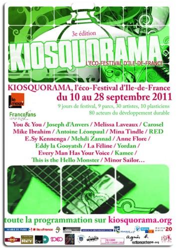 Kiosquorama,eco festival,ile de france,paris