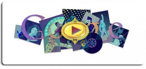 queen doodle,google