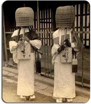 komuso monks,shakuhachi,kokoo